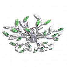 VID Átlátszó kristály mennyezeti lámpa Akril, zöld-fehér színben