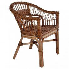 VID barna természetes rattan kültéri szék