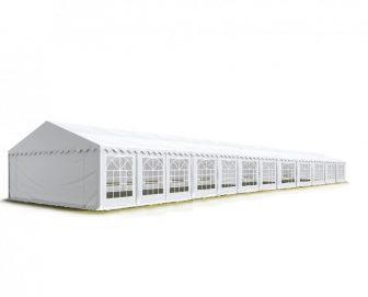 TP Professional deluxe 6x24m-2,6m oldalmagasság, 550g/m2 rendezvénysátor extra vastag acélszerkezettel