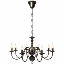 VID Antik mennyezeti függő lámpa/ csillár, fekete színben