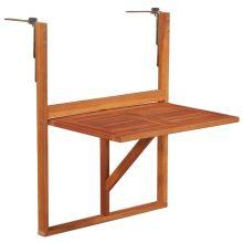 VID  akácfa felakasztható erkély asztal 64,5 x 44 x 80 cm