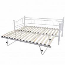 """VID Fém ágy 211x100 cm """"V27"""" ágyráccsal"""