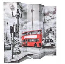 VID fekete/fehér paraván 200 x 180 cm londoni busz