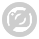 Mintás szőnyeg - szürke színű narancs csíkozással - 80x150 cm