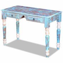 Retro újrahasznosított fa íróasztal