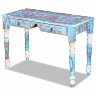 VID Retro újrahasznosított fa íróasztal
