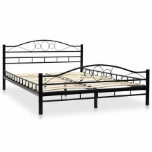 """VID Fém ágy 140x200 cm """"V2"""" ágyráccsal"""