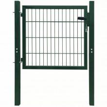 VID acél kerítés kapu zöld színben  106x150cm