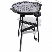 VID Elektromos barbecue grillsütő állvánnyal 2200 W