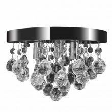 VID Mennyezeti kristály lámpa, króm- akril gömbök