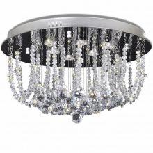 Mennyezeti LED kristály csillár