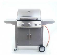 EPT Oklahoma BBQ Premium line gázgrill, 3 égőfej + ajándék nyomáscsökkentő