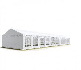 TP Professional deluxe 5x18m-2,6m oldalmagasság, 550g/m2 rendezvénysátor extra vastag acélszerkezettel