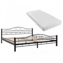 VID Fémkeretes ágy matraccal 180x200 cm