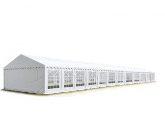 TP Professional deluxe 4x24m-2,6m oldalmagasság, 550g/m2 rendezvénysátor extra vastag acélszerkezettel tűzálló