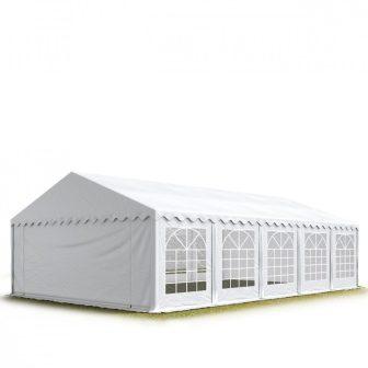 TP Professional deluxe 6x10m nehéz acélkonstrukciós rendezvénysátor erősített tetőszerkezettel
