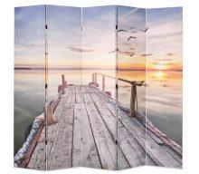 VID paraván 200 x 180 cm tó