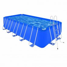 Fémvázas medence létrával [540 x 270 x 122 cm] - téglalap