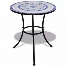 Mozaik kerti asztal 60 cm több kék színben