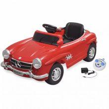 Elektromos kisautó piros Mercedes Benz 300SL
