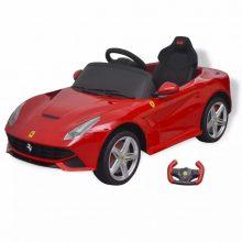 Elektromos kisautó Ferrari F12 piros