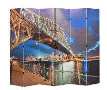 VID paraván 228 x 180 cm sydney-i Kikötőhíd
