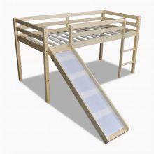 VID Emeletes ágy, gyermekágy csúszdával- tölgy színben