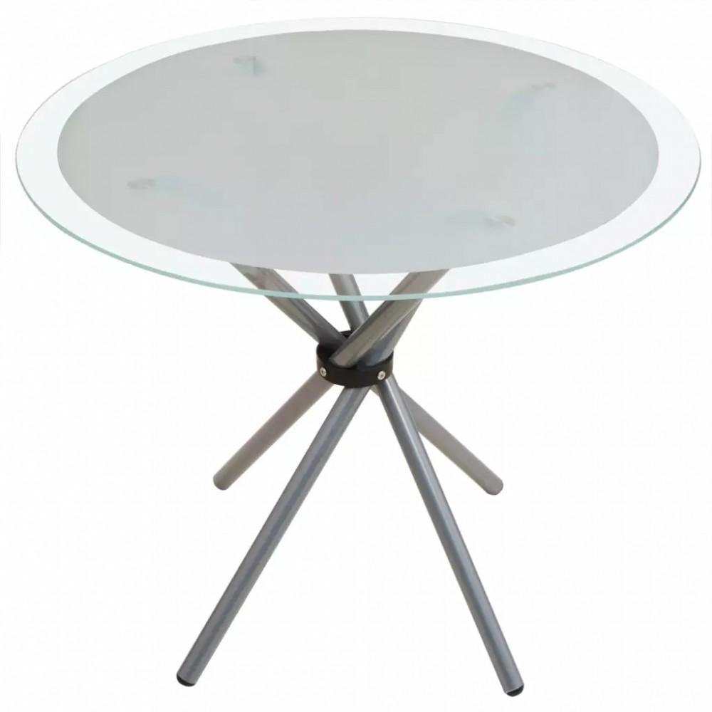 5 darabos étkező garnitúra készlet kerek asztallal két színben ...