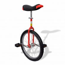 """Egykerekű kerékpár - 20"""" - piros"""