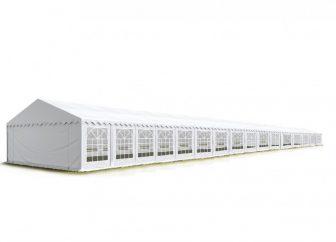 TP Professional deluxe 8x32m-2,6m oldalmagasság, 550g/m2 rendezvénysátor extra vastag acélszerkezettel
