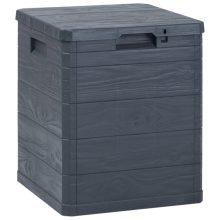 VID  fekete kerti tárolóláda 90 L