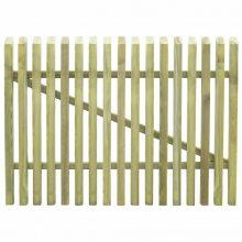 VID kertkapu impregnált fenyőfalécekből 100 x 75 cm