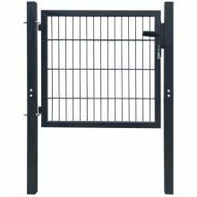 VID 2D kerítés kapu 106 x 130 cm antracit zöld szín