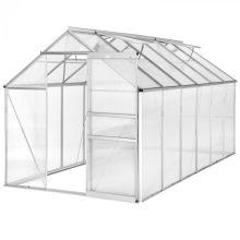 Economy üvegház/polikarbonát melegház - 6,93 m²