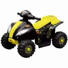 Elektromos motor quad sárga és fekete