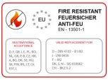 PVC PROFESSIONAL 550g/nm ponyvával, extra vastag acélszerkezettel tűzálló ponyvával